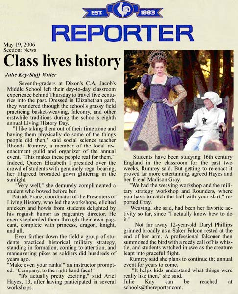 The Vacaville Reporter 5-19-06